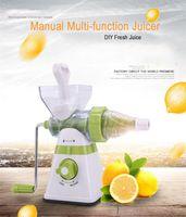 Wholesale 2017 New Upgrade Manual Juicer Desktop Blender Multi Function Household Juice Maker Ice Cream Machine Juice Extractor