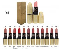 Wholesale High quality New Arrivals makeup gold collection matte lipstick color