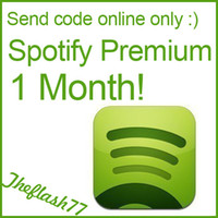 Wholesale Spotify Premium Accounts Not cards USA month membership send code only software