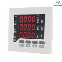 Wholesale ME UIF73 mm LED display Three phase AC volt amp meter digital Combined Meters made in China