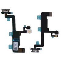 Wholesale ON Of Volume Button Switch Power Mute Connector Flex Ribbon Cable For iPhone plus