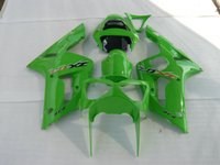 ABS Injection Mold Kawasaki New Injection Mold ABS motorcycle bike fairing kits For kawasaki ninja ZX-6R 03-04 ZX 6R 2003 2004 636 ZX6R bodywork set love buy green