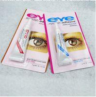 Wholesale Fatory Direct HOT Sale Water proof Eyelash Adhesives glue G White BlacK Make Up Tools Professional free shpping