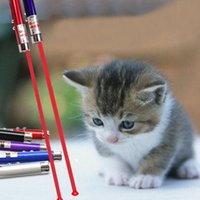 aluminum beam wholesalers - New Creative and Funny Pet Cat Toys LED Red Beam Laser Pointer Pen Laser Pointer light Pen Childrens Play Cat Toy ZA1856