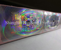 adhesive hologram sticker - customized made self adhesive hologram sticker labels Free design void if removed