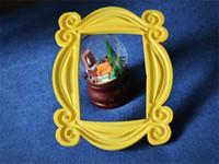 achat en gros de amis cadre-Série télévisée Friends Limited Cadre américain de style jaune Lun Back Door Photo Frames