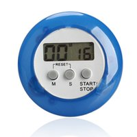 Wholesale 2017 novelty digital kitchen timer Kitchen helper Mini Digital LCD Kitchen Count Down Clip Timer Alarm Multi color