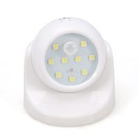 Wholesale NEW LED Night Light for Children with Motion Sensor Sleeping Light Kids Bed Night Lamp Rotation PIR IR Infrared Detector