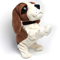 animal toy dog - Plush Interactive Puppy Dog Doll Toy Works Charity item Barking Flip Sit Walks