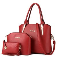Wholesale New And Fashion Women And Child Backage Three Piece Messenger Shoulder Bag