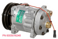 Wholesale air conditioning compressor Sanden SD7H15 M91 M91 ROT Hor G mm V