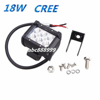 Wholesale 4 quot inch W Cree LED Work Light Bar Lamp for Motorcycle Tractor Boat Off Road WD x4 Truck SUV ATV Spot Flood v v MYY10420A