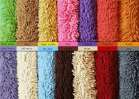 Wholesale Chenille MATS doormat mat household kitchen bedroom toilet bath mat that take the door the door suction carpet wool cm long and