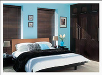 Wholesale WINDOW BLINDS REAL WOOD MADE TO MEASURE CM CM WIDTH SLATS