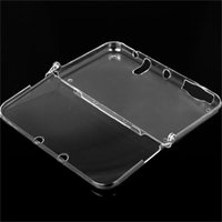 Wholesale New One piece Hard Plastic Crystal Clear Case Shell Skin for Nintendo New DS XL High Quality