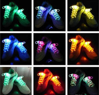 best glow sticks - Best Price and blister Package LED Shoelaces Shoe Laces Flash Light Up Glow Stick Strap Shoelaces Disco Party Skating Sports Glow Stick