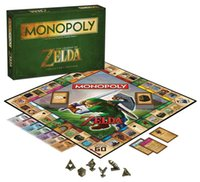 Wholesale 2016 Legend of Zelda around table board games Monopoly chess desktop game chess there are other series of Monopoly games