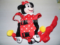 Wholesale Animal Fun Backpack Minnie Mouse Goldbug Harness Buddy Animal Reins for Toddlers Child Safety Harness Animal in Children Bag