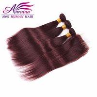 Wholesale Brazilian Virgin Hair With Closure Bundles Brazilian J straight hair with closure quot x4 quot Lace Closure With Bundles human hair
