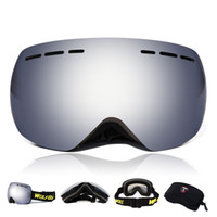 Wholesale Skiing Goggles Motorcycle Sunglasses Tactical to Prevent Particulates in Colorful Lens Double layer anti fog spherical wind proof mirror