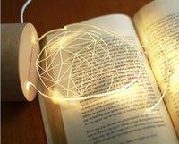 Wholesale Creative gifts table lamp d hayao miyazaki totoro wood LED small night light birthday gifts