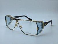 al por mayor goggles steampunk-Nueva cosecha de gafas de Alemania diseñador CZ955 gafas graduación steampunk estilo hombres marca deisnger gafas de diseño envoltura marca gafas