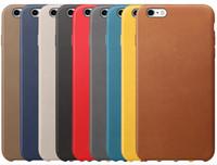 al por mayor 5s oro-Para el iphone 7 más el caso de cuero de la PU cubre las cubiertas de lujo ultra finas del teléfono del oro de Baseus del oro ultra finas para el iphone 6 6s más 5 5s iphone7 más.