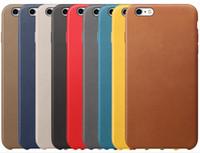 achat en gros de 5s d'or-Pour iphone 7 plus cas en cuir PU en cuir Ultra Thin Colorful Gold Baseus Housse de téléphone de luxe pour iPhone 6 6s plus 5 5s iphone7 plus.