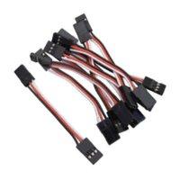 Wholesale 100x CM Male to Male JR Futaba Servo Extension Lead Wire Cable mm KK MWC APM