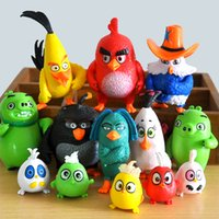 best bird toys - 2016 New Version Angry Bird set Action Figures Anime Toys Best Gifts for Children DHL