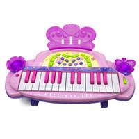 Wholesale Children dream butterfly keyboard girls toys baby early education children children s music educational enlightenment
