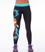 Wholesale 3D digital printing outdoor yoga pants women s leisure fashion sport render pants casual trousers