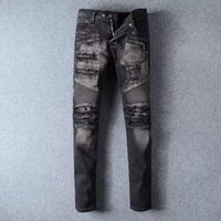 american made jeans - BALMAIN BIKER JEANS MADE IN ITALY SZ