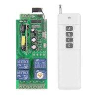 Wholesale 3000m AC V V V V Channel CH RF Wireless Remote Control Switch System Receiver Transmitter MHZ