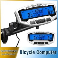 accurate stopwatch - SD A Rainproof Bicycle Computers LCD Backlight Bike Stopwatches Accurate Wired Cycle Speedometer with Retail Package