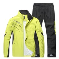 Wholesale Spring Autumn Outdoor Sports Set New Arrival Outdoor Joggers Men s Sports Suit Long Sleeve Running Set Men XL