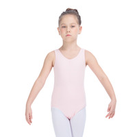 ballet basics - Kids Ballet Leotards Cotton Lycra Low Back Basic Dance Tank for Girls and Ladies Practice Bodysuit Full Sizes Colors Available