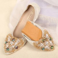 Wholesale Hot sale soft oxford shoes for women rhinestone egg rolls casual pointed toes creepers flat heel loafers