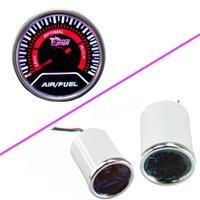 Wholesale EE support Car Motor Universal Smoke Len quot mm Indicator Air Fuel Ratio Gauge Meter XY01