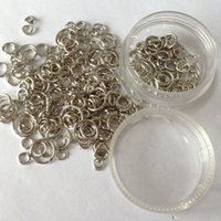 Wholesale Diy accessories and tool box synthetic storage box x21mm mix jump ring4mm mm mm mm mm mm
