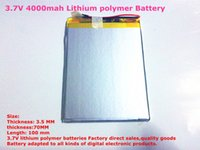 ainol aurora battery - Size V mah Lithium polymer Battery with Protection Board For inch Tablet PC Ainol Aurora