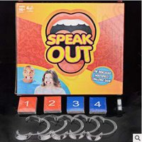 Wholesale Creative Speak Out Game Card KTV Party Game Challenge Game Funny Board Christmas Halloween Party Words Game Amusement Toy CCA5321