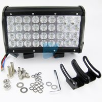 Wholesale 108W CREE LED FLOOD Light Bar for Marine Boat Offroad Truck Car SUV RV Working Light Row inch