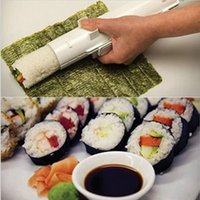 best mats - DIY Home Sushi Bazooka Camp Chef Sushezi Roller Kit Sushezi Best Selling Cooking Tools Fashion Easy to Use Sushi Tools Cheap Sale