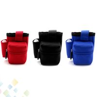 bottle carrying bag - Box Mod Carrying Case E Cig Bag Case Box Mod Pouch Various Contain Mod RDA Bottle and Batteries Colorful Pocket DHL Free
