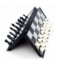 Wholesale Direct selling international chess magnetic fold checkerboard match special purpose