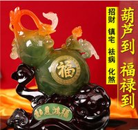 Wholesale Lucky the mythical wild animal gourd furnishing articles opening gifts and home decoration wine creative living room feng shui handicraft