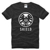 agent orange - men t shirts Agents S H I E L D SHIELD Avengers Mens T Shirt Men black Casual T shirt Tee Camisetas Hombre summer style