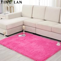 Wholesale New Fashion Flokati Shaggy Seatmat Carpet Beige Rug Anti skid Carpets Fit for Living Room And Bedroom Soft Carpet