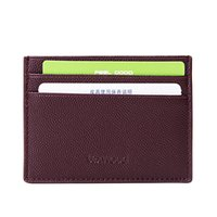 Wholesale men Wallet money clip Leather Cards and ID Holders Credit Cards Holder Case Mini Ultral Thin mens Wallet short coin purse wallet ultra thin